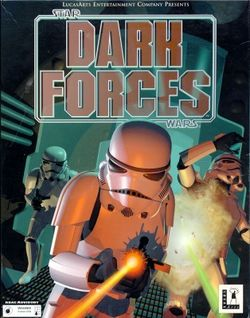 Box artwork for Star Wars: Dark Forces.