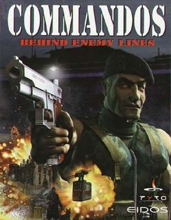 Box artwork for Commandos: Behind Enemy Lines.