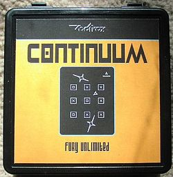 Box artwork for Continuum.