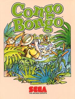 Box artwork for Congo Bongo.
