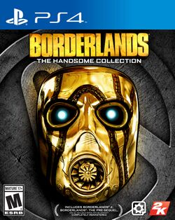 Box artwork for Borderlands: The Handsome Collection.