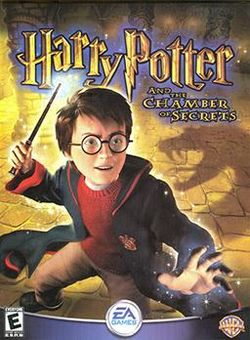 Box artwork for Harry Potter and the Chamber of Secrets.