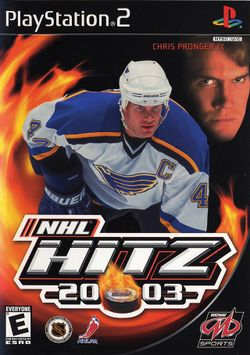 Box artwork for NHL Hitz 20-03.