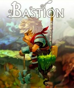 Box artwork for Bastion.