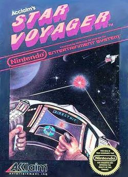 Box artwork for Star Voyager.