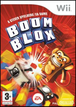 Box artwork for Boom Blox.