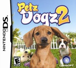 Box artwork for Petz: Dogz 2.