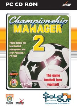 Box artwork for Championship Manager 2.