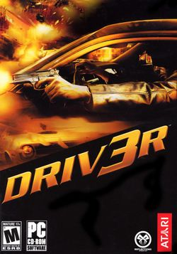 Box artwork for Driv3r.