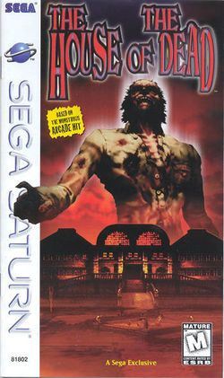 Box artwork for The House of the Dead.