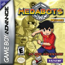 Box artwork for Medabots: Metabee and Rokusho.