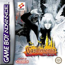 Box artwork for Castlevania: Aria of Sorrow.