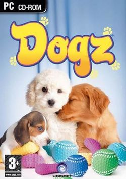 Box artwork for Dogz and Catz.