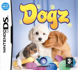 Box artwork for Dogz.